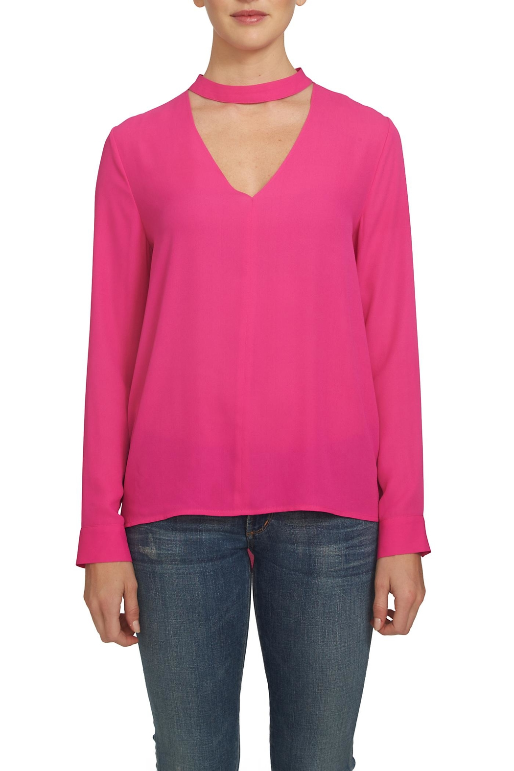 1.State Bar Neck Blouse - Main Image