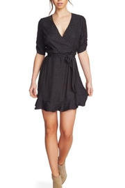 1.State Cinched Leopard Dress - Product Mini Image