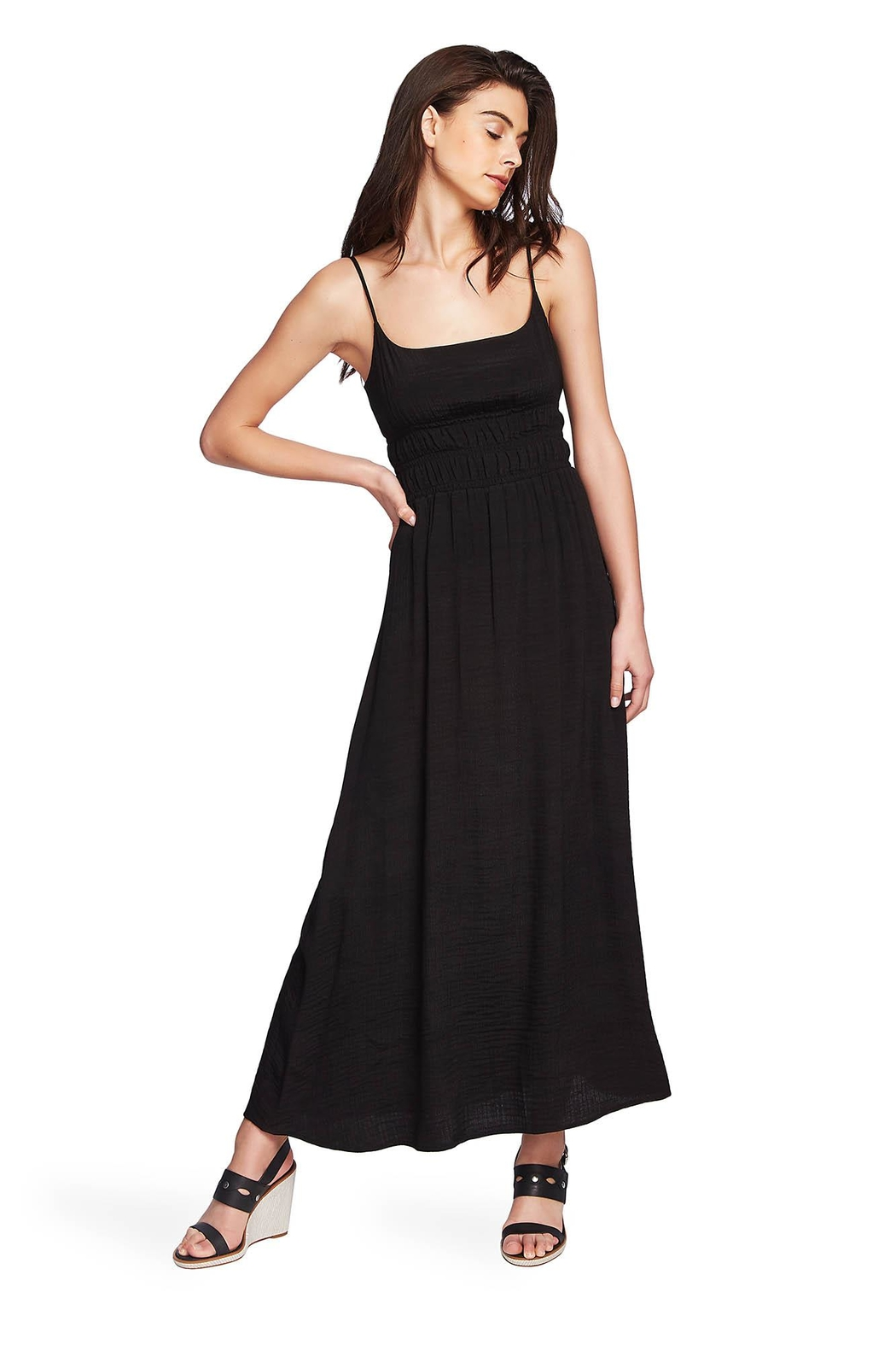 1.State Cinched Waist Dress - Main Image