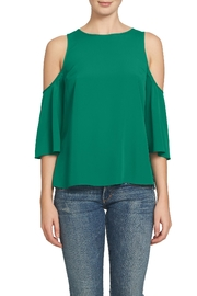 1.State Cold Shoulder Blouse - Product Mini Image