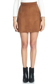 1.State Faux Suede Skirt - Alternate List Image