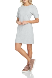 1.State Grey T-Shirt Dress - Product Mini Image