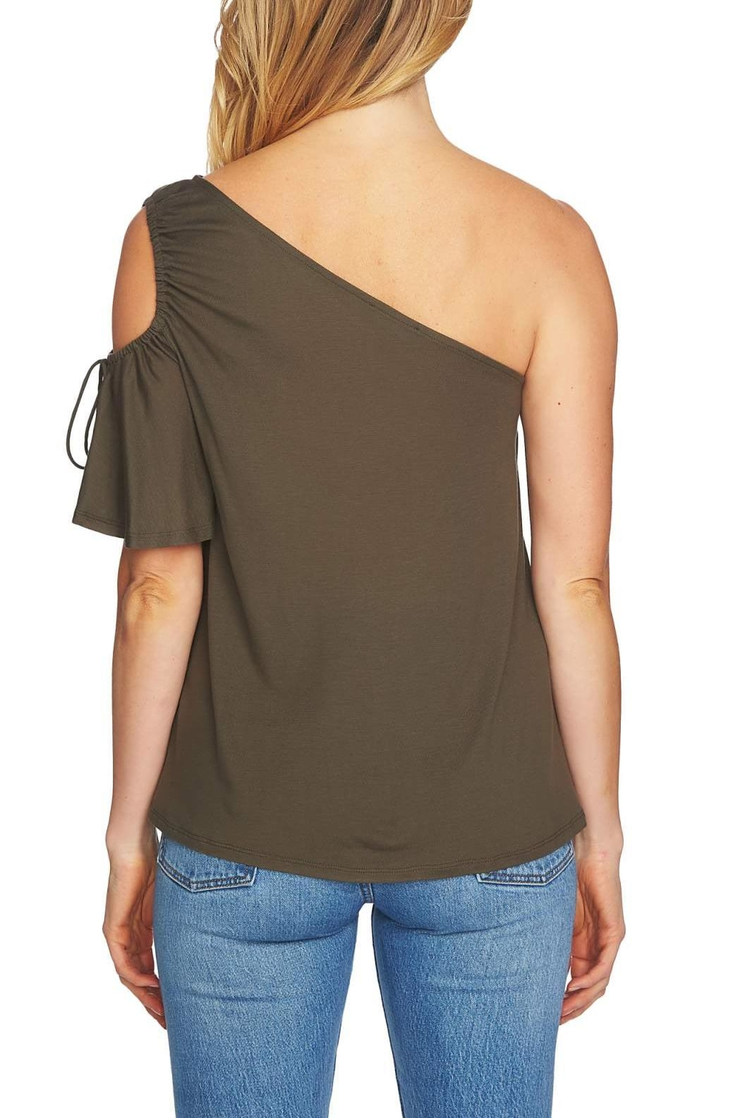 1.State One-Shoulder Cut-Out - Front Full Image