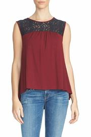 1.State Sleeveless Lace Top - Product Mini Image