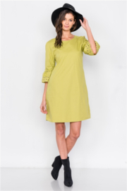 Tasha Apparel 100% Cotton Midi A Line Dress - Product Mini Image