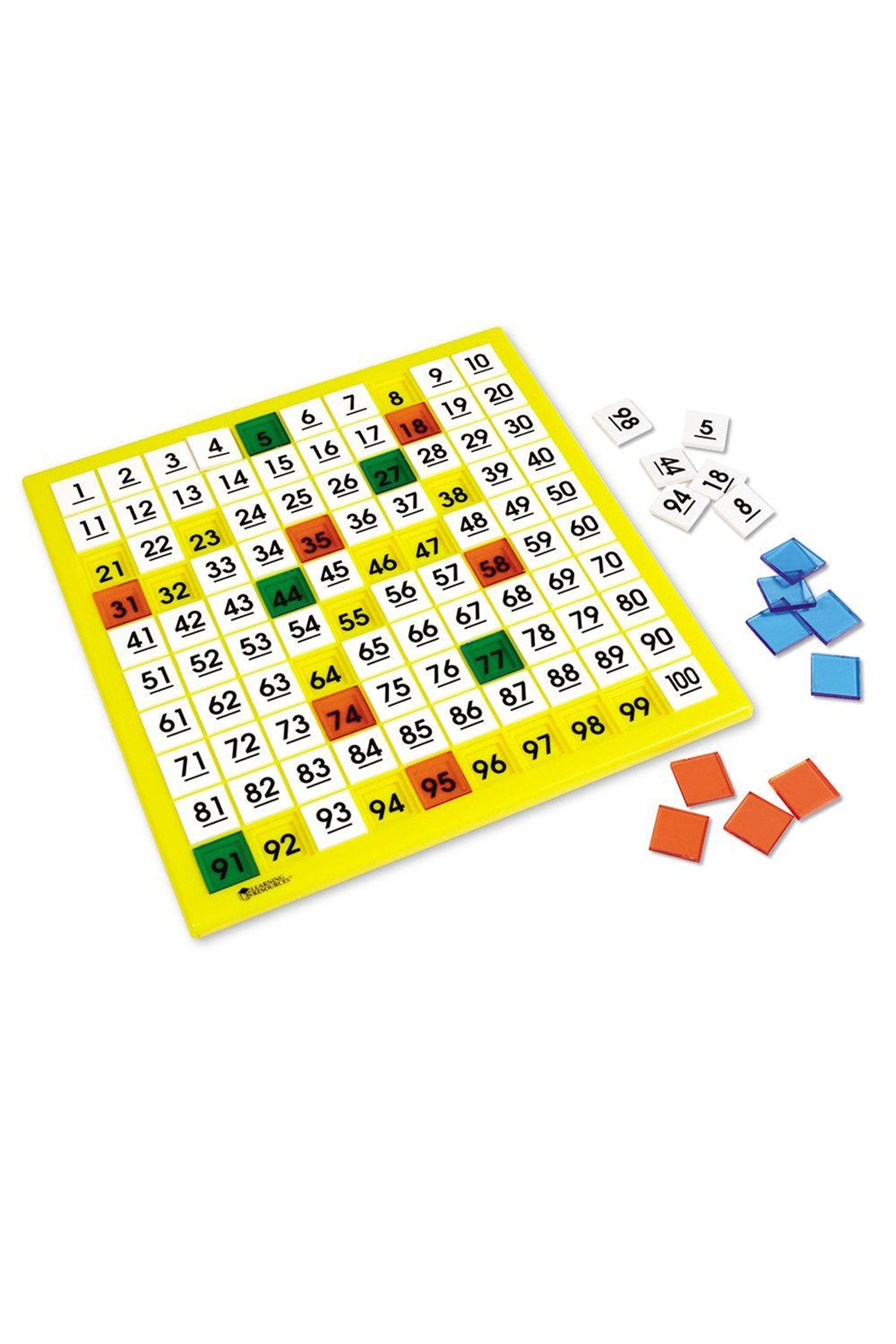 Learning Resources 100's Number Board - Main Image