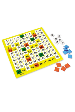 Learning Resources 100's Number Board - Product List Image