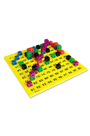 Learning Resources 100's Number Board - Back cropped
