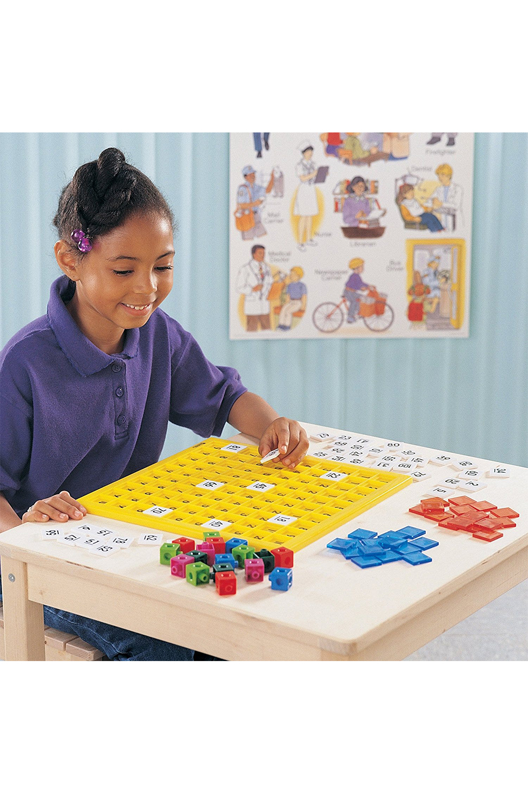 Learning Resources 100's Number Board - Front Full Image