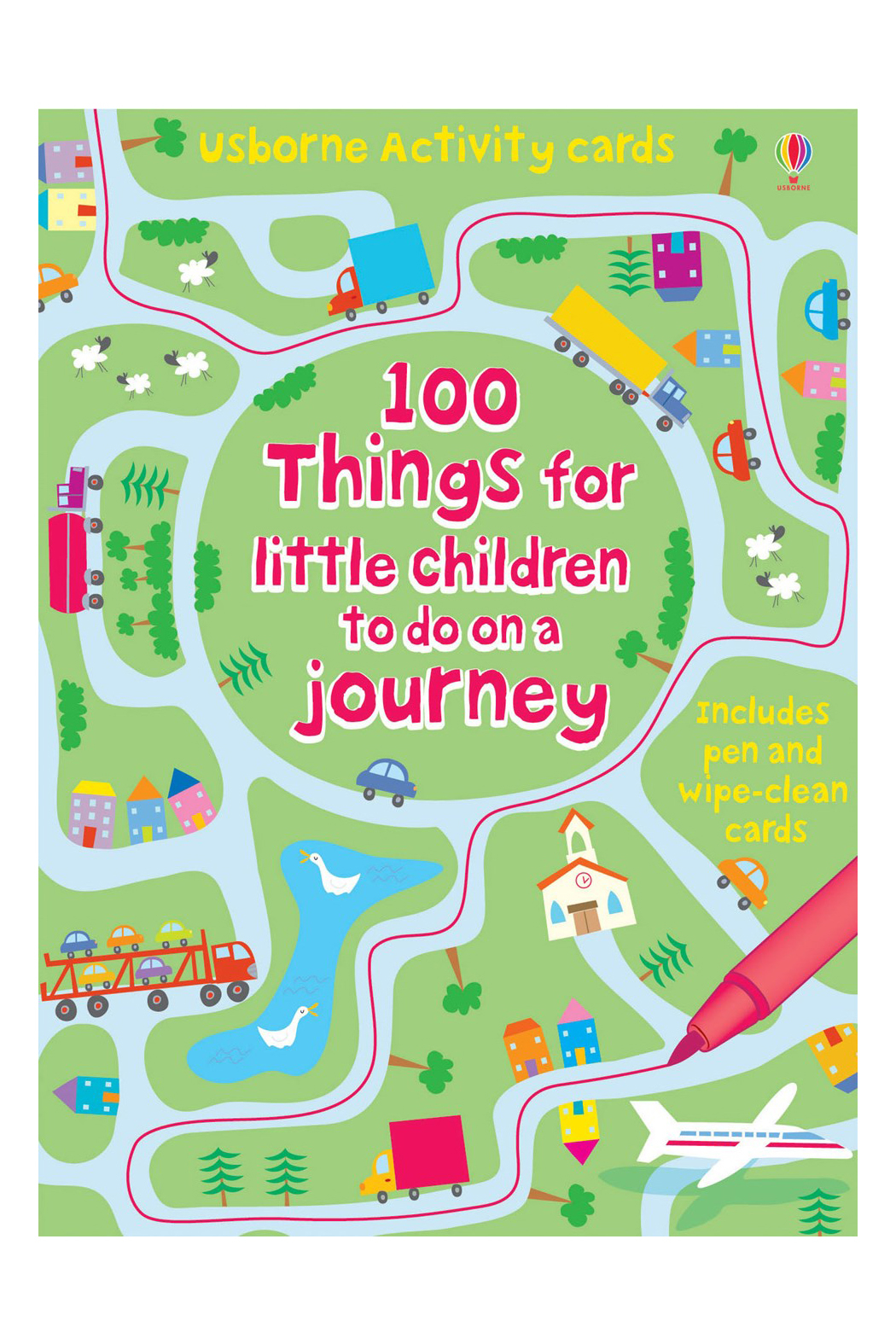 Usborne 100 Things For Little Children To Do On A Trip - Main Image