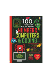 Usborne 100 Things To Know About Numbers, Computers & Coding - Product Mini Image