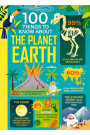 Usborne 100 Things To Know About Planet Earth - Product Mini Image