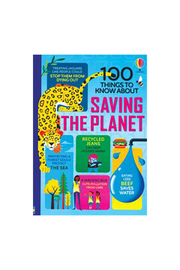 Usborne 100 Things To Know About Saving The Planet - Product Mini Image