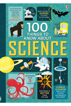 Usborne 100 Things To Know About Science - Alternate List Image