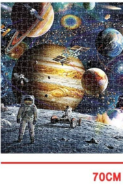 Freeship Wholesale - Faire 1000 Pc Space Puzzle for Kids and Adults - Product Mini Image