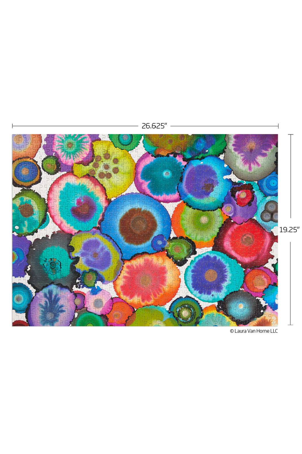 Werk Shoppe 1000 Piece Jigsaw Puzzle - Front Full Image