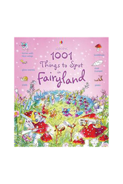 Usborne 1001 Things To Spot In Fairyland - Front cropped