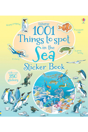 Usborne 1001 Things To Spot In The Sea Sticker Book - Product Mini Image