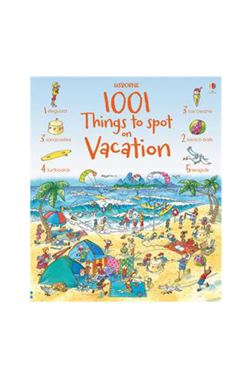 Usborne 1001 Things To Spot On Vacation - Main Image