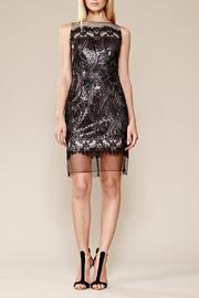 Julia Jordan Sequin Mesh Dress - Product Mini Image