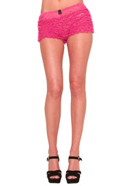 Shoptiques Product: 1950's Pink Ruffle Panty - Front cropped