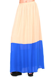 Shoptiques Product: Galapagos Maxi Skirt - Front cropped