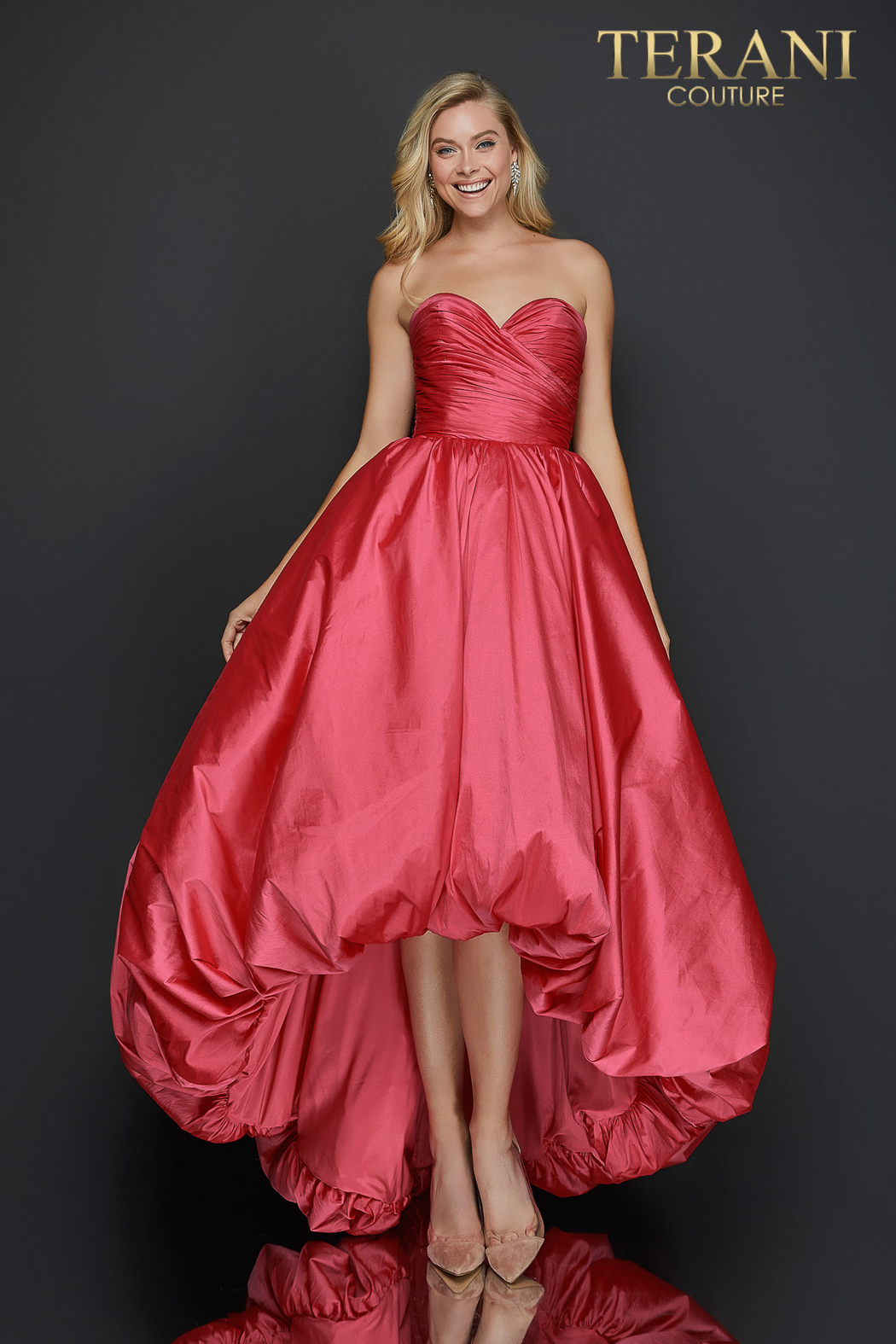 Terani Couture High Low Gown - Main Image