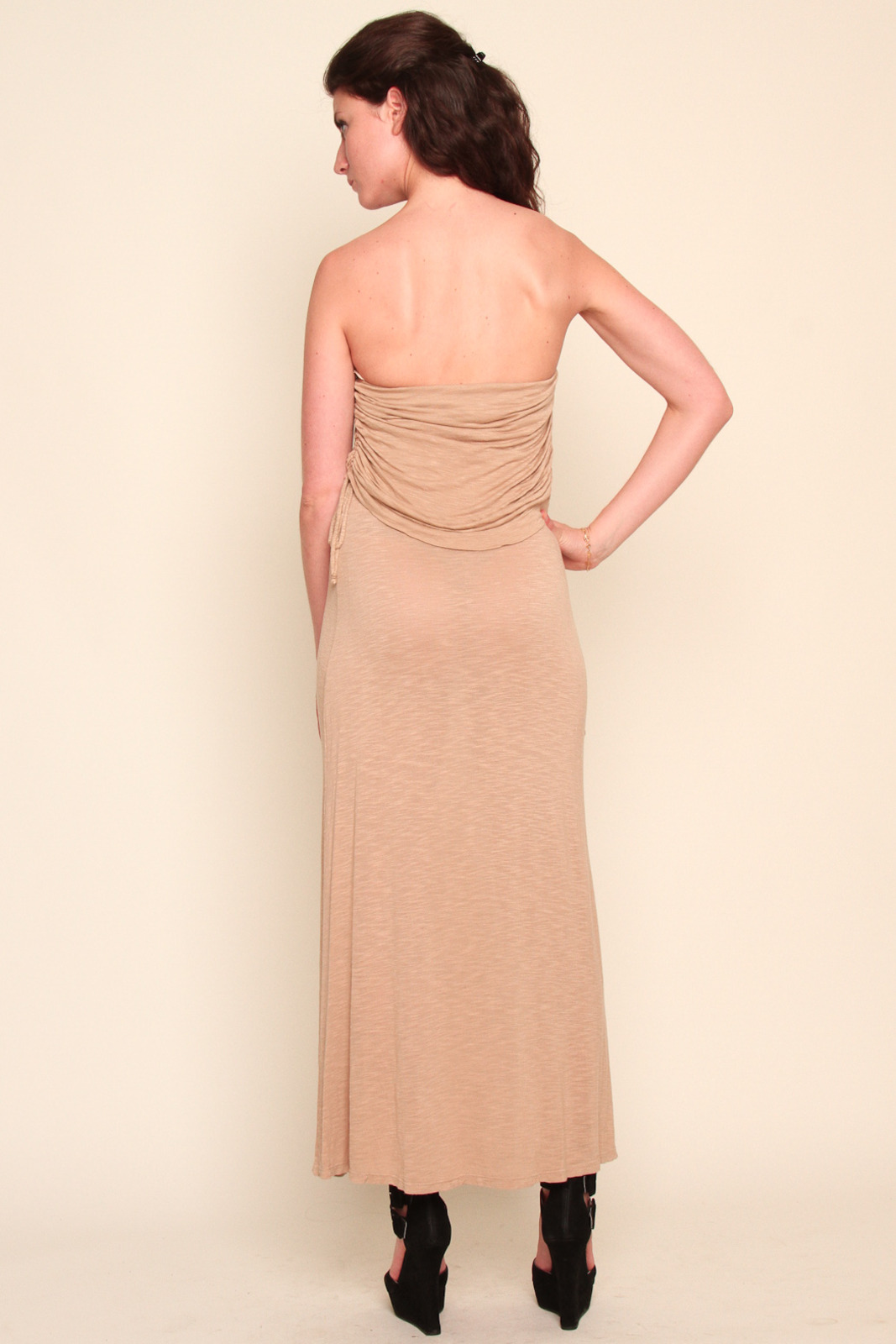 Young Fabulous & Broke Strapless Tie Side Maxi Dress from ...