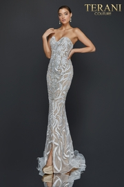 Terani Couture Strapless Gown - Product Mini Image