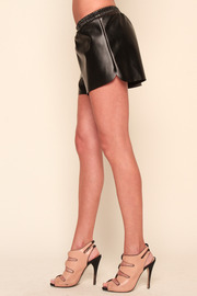 Understar Leatherette Boxing Shorts - Side cropped