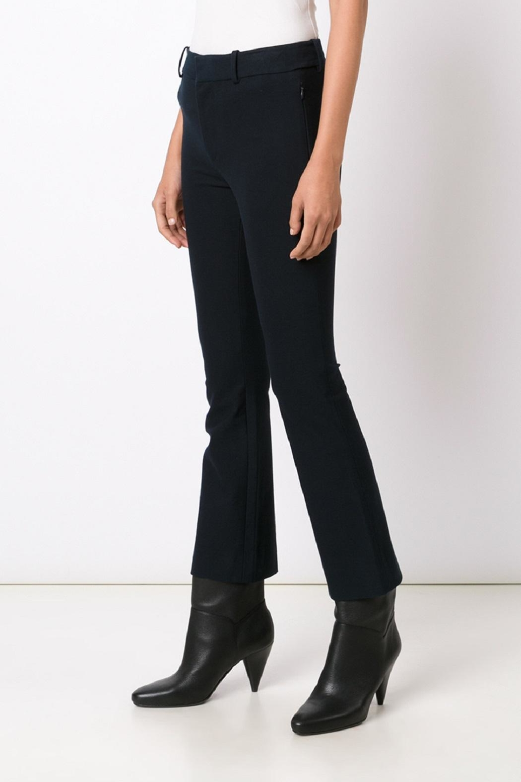10 Crosby Derek Lam Cropped Flare Trousers - Front Full Image