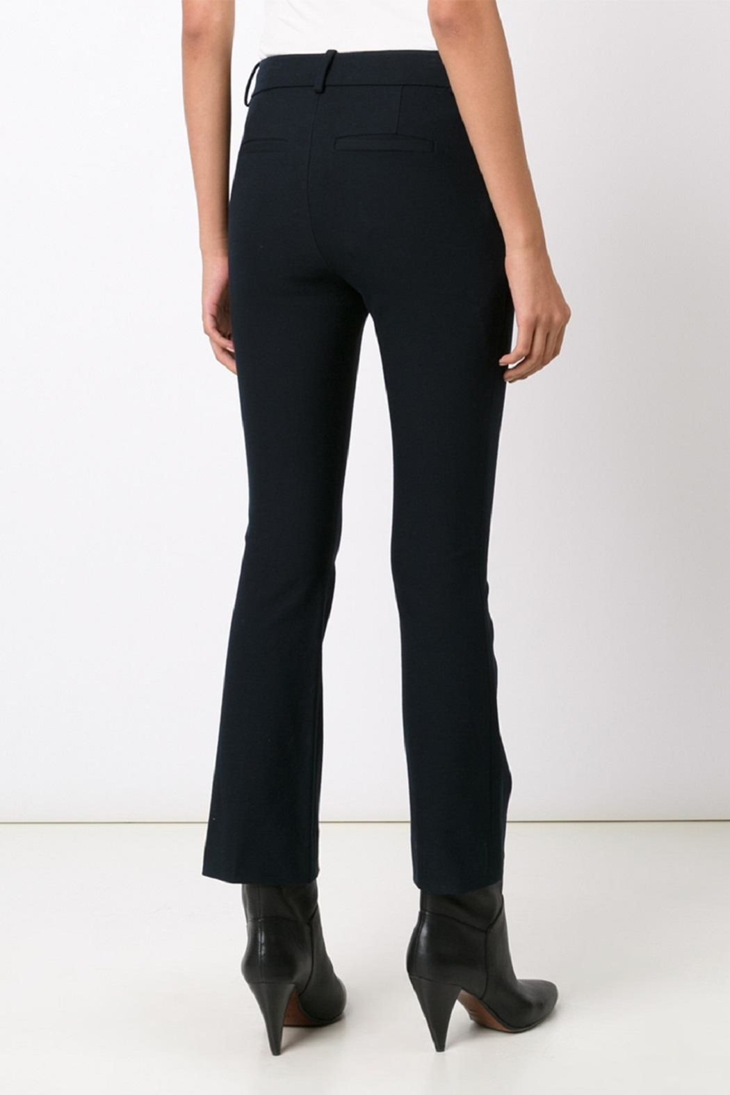 10 Crosby Derek Lam Cropped Flare Trousers - Side Cropped Image