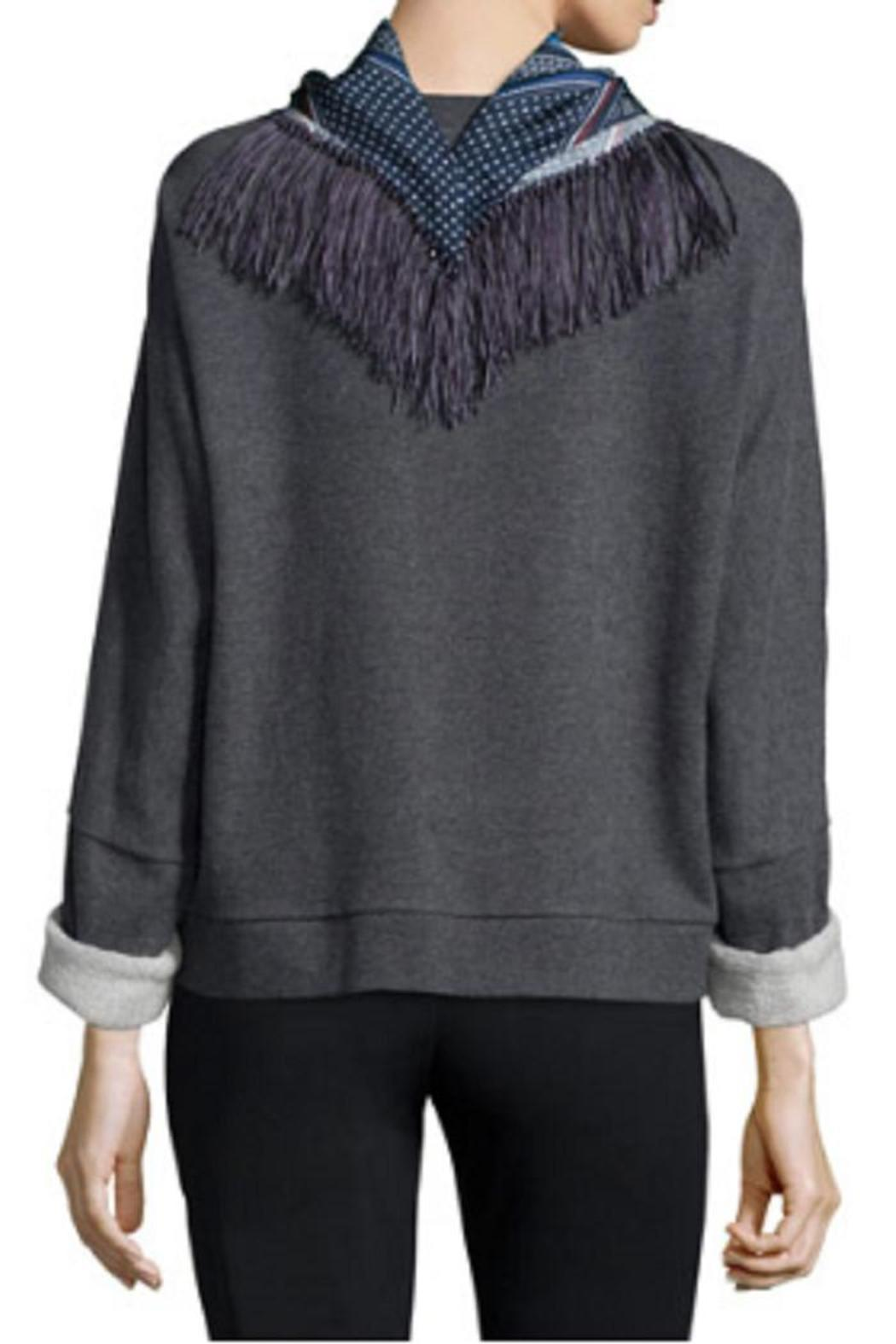 10 Crosby Derek Lam Scarf And Sweatshirt - Side Cropped Image