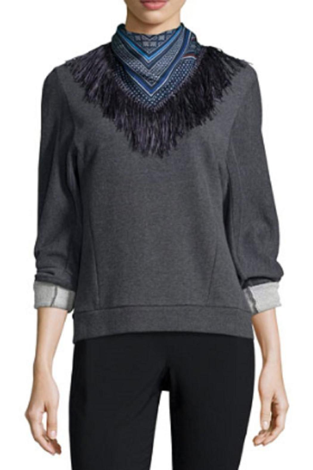10 Crosby Derek Lam Scarf And Sweatshirt - Main Image