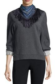 10 Crosby Derek Lam Scarf And Sweatshirt - Front cropped