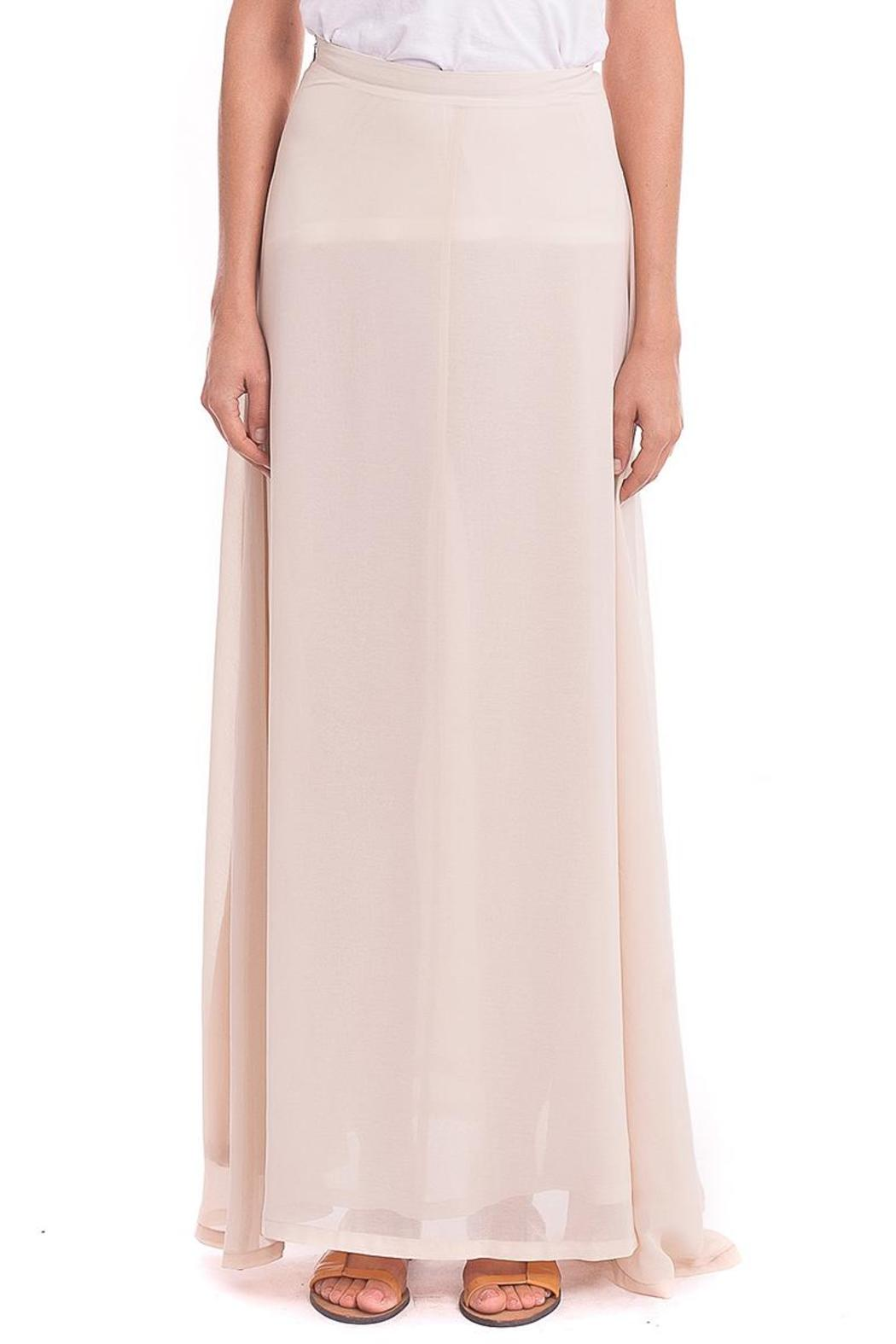 Zero Degrees Celsius Chiffon Maxi Skirt From Wicker Park By Mulberry