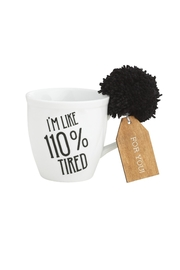 Collins Paintings 110% Tired Mug - Product Mini Image