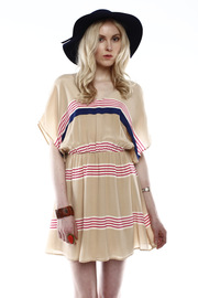 Shoptiques Product: Striped Wide-Sleeve Dress