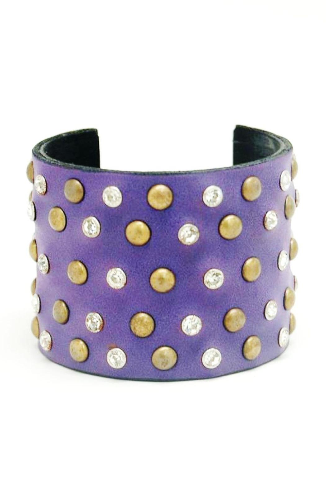 Made It! Leather Bling Cuffs - Main Image