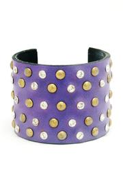 Made It! Leather Bling Cuffs - Product Mini Image