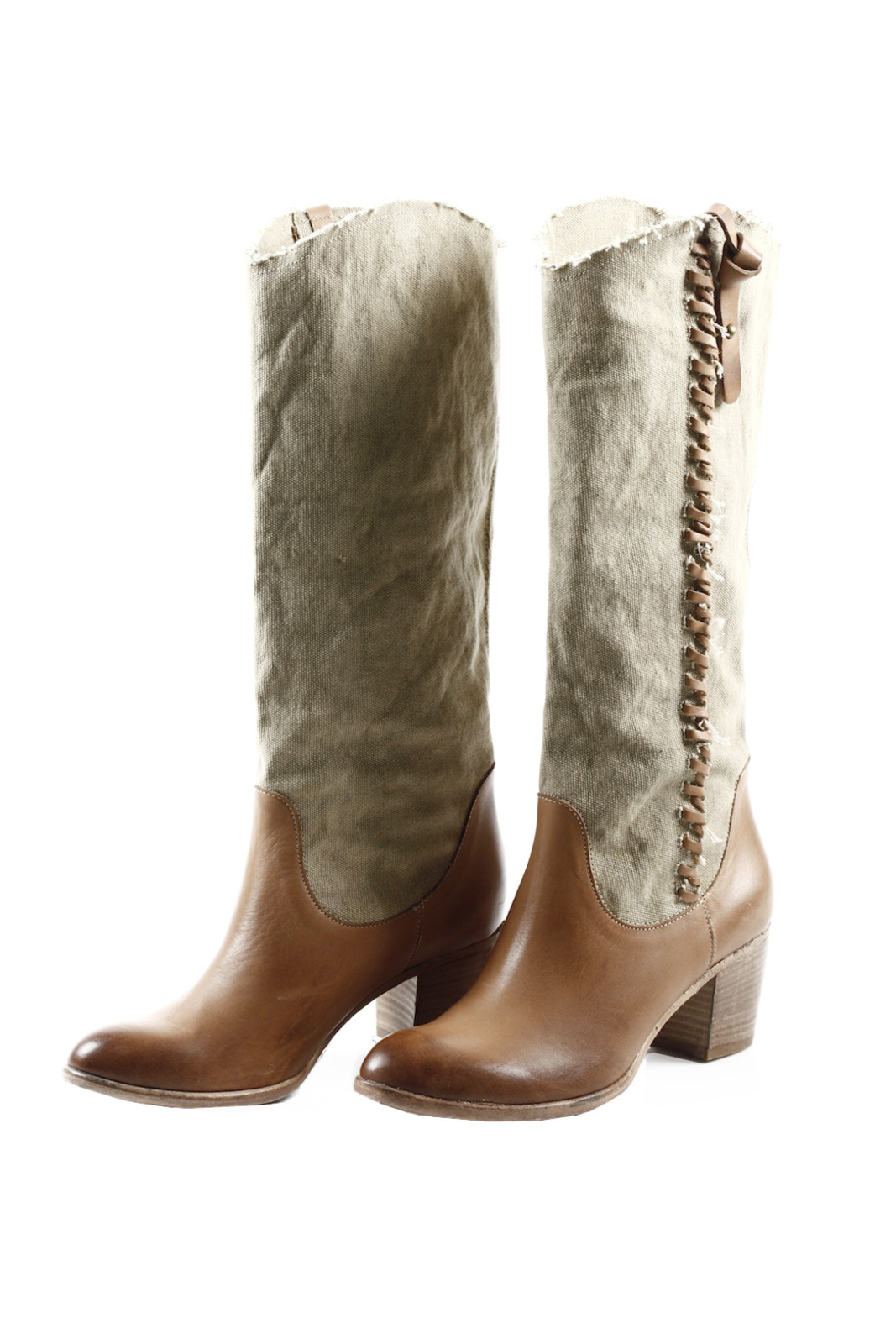 Baci Vintage Cowgirl Boots - Main Image