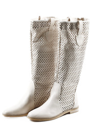 Shoptiques Product: Decorative Leather Knee Boots