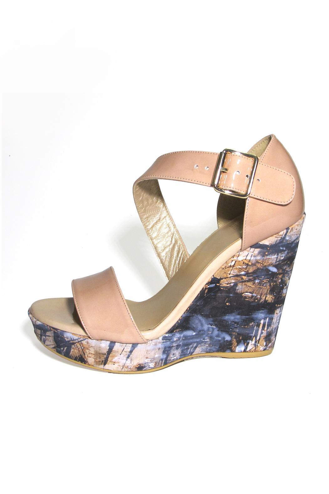 705443738291 Stuart Weitzman Oneliner Cork Wedge from South Carolina by Baehr ...