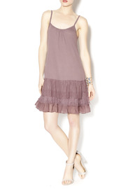 A'reve Layered Ruffle Dress - Front full body