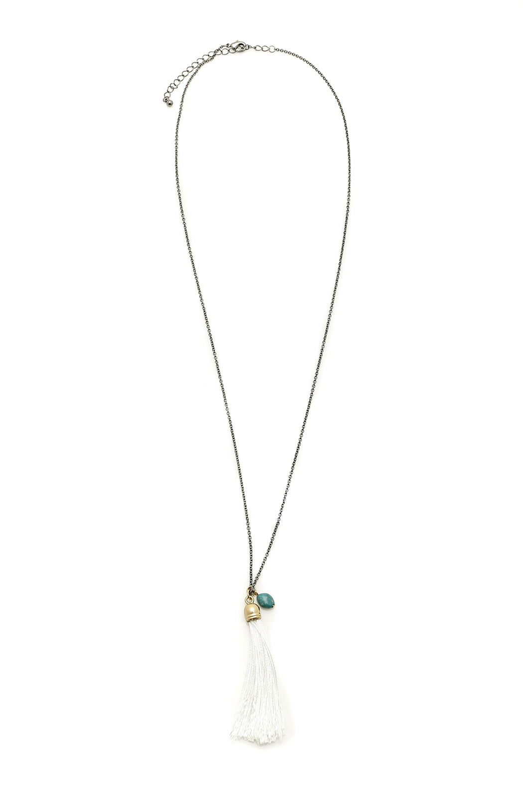 FADA Fada Tassel Necklace - Front Cropped Image