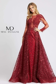 Mac Duggal High Neck Gown - Product Mini Image