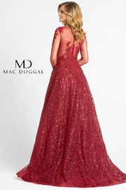 Mac Duggal High Neck Gown - Side cropped