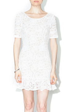 Bonded Ivory Lace Dress - Product List Image