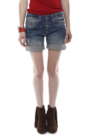 Shoptiques Product: Cuffed Denim Shorts