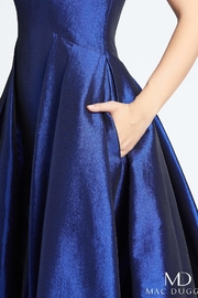 Mac Duggal Square Neckline Gown - Side cropped